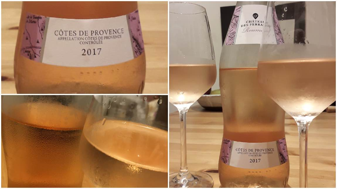 Rose wine tips Chateau des Ferrages Roumery Rose 2017