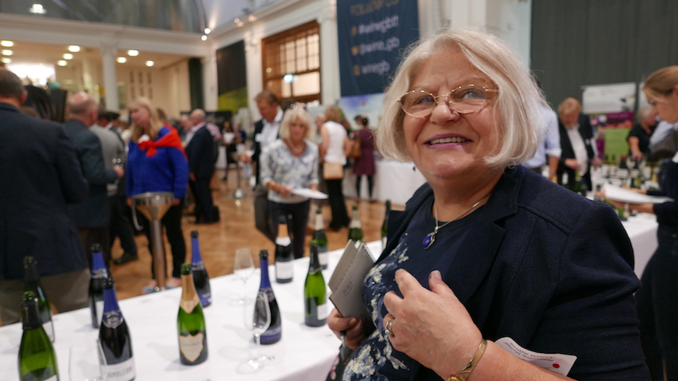 Scottie Gregory Tasting WineGB 2019
