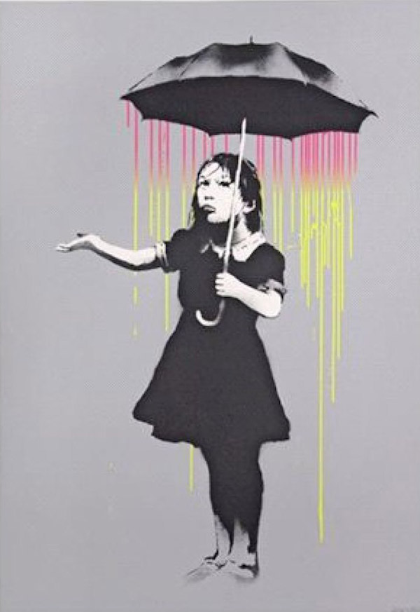 Banks exhibition London - buy original Banksy prints