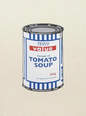banksy art for sale soup can print