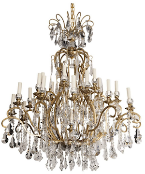 french 19th century style chandelier