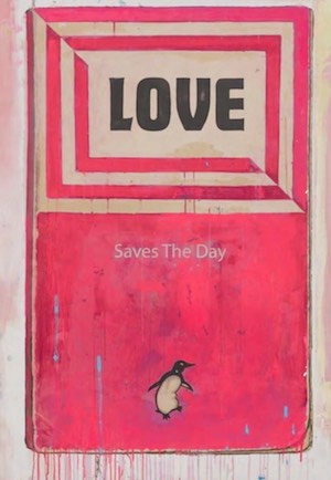 love saves the day - Harland Miller art for sale