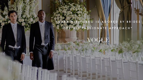 wedding planners vogue