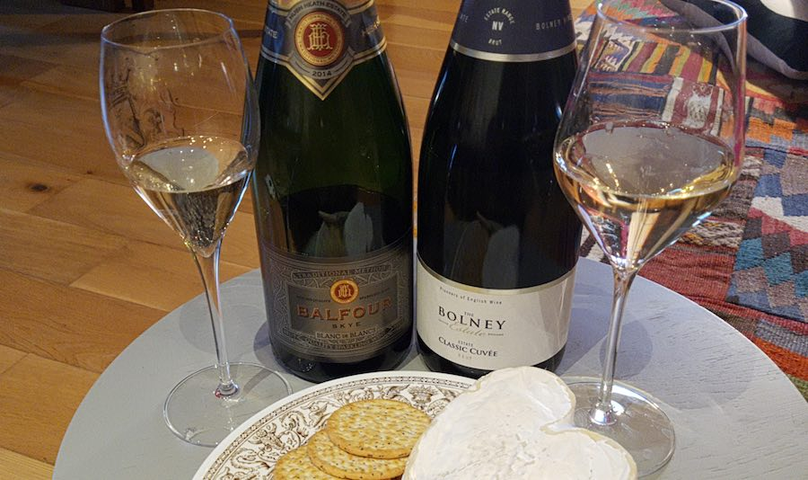 Big English Wine Good Friday - Hush Heath Balfour Blanc de Blancs and Bolney estate Classic Cuvee