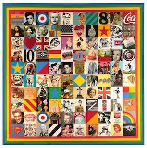 Peter Blake Prints For sale - 100 Sources of Pop Art 2014
