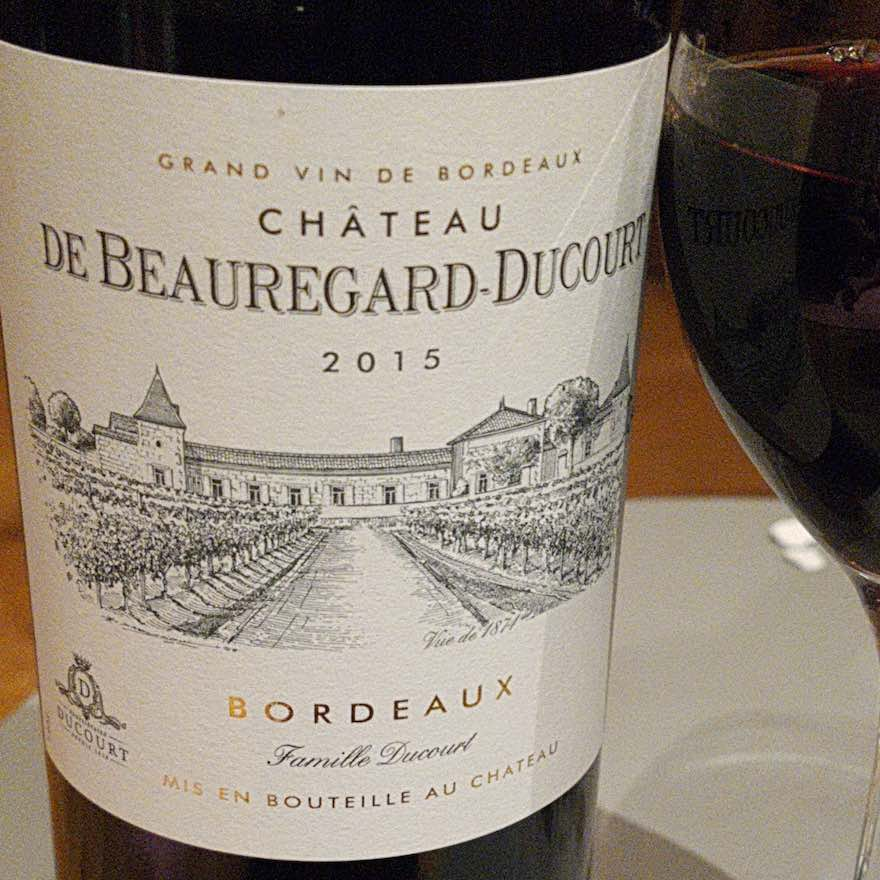 Chateau de Beauregard-Ducourt 2015