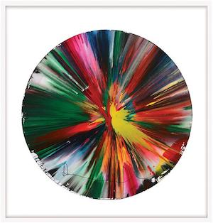 Damien Hirst Spin Painting for sale UK