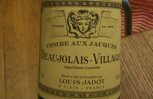 Beaujolais Village 2012 Louis Jadot