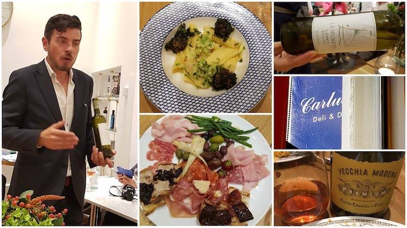 Remembering Antonio Carluccio and Italian food and wine matching