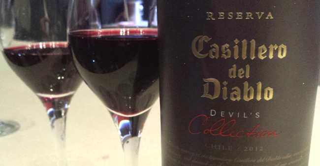 Casillero el Diablo - Devil's Collection - red - tinto