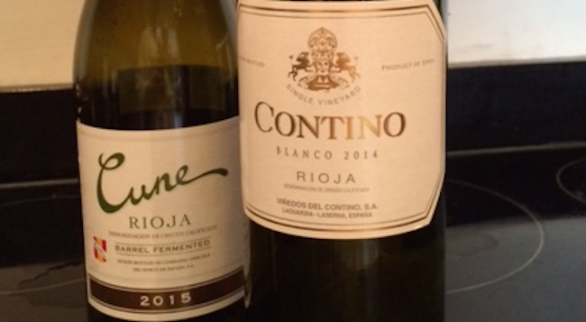 Contino Blanco 2014 - Cune Barrel Fermented Blanco 2015