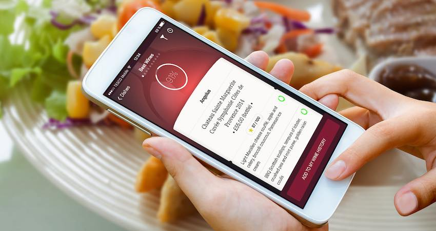 Corkscrew mobile app - London Restaurants