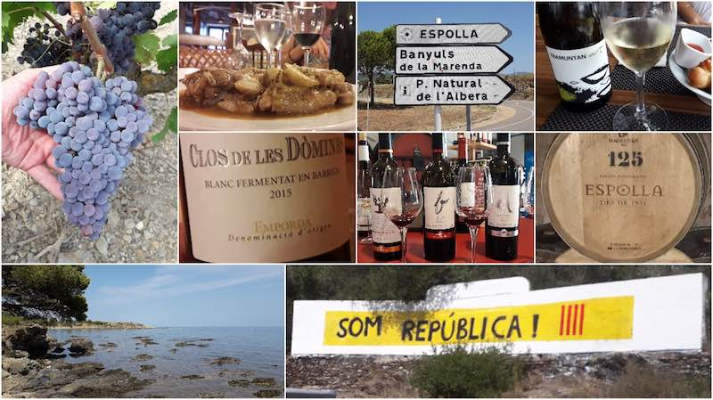 Wine tasting in Catalonia - from Espolla to Cadaqúes