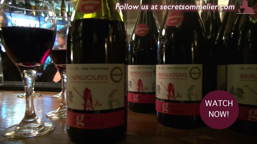 Beaujolais Day Le Garrick Covent Garden, London