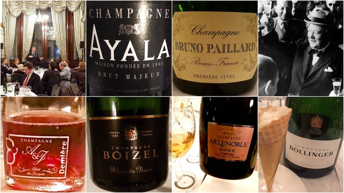 Champagne tasting London
