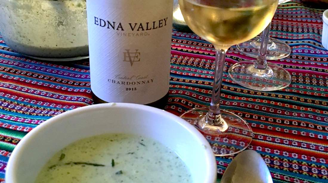 Edna Valley Vinayard Chardonnay 2015 Review