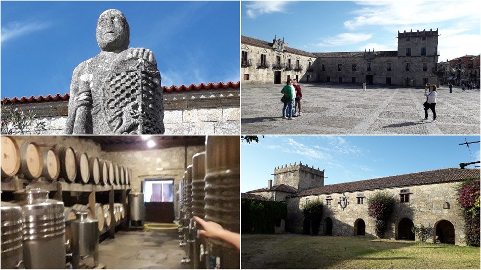 palacio de fefinanes collage