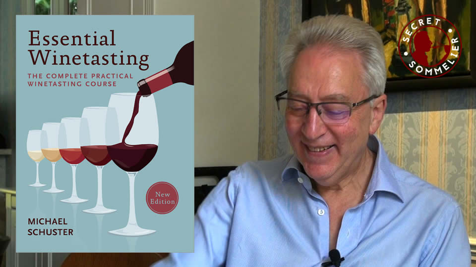 Michael Schuster - wine tasting course book
