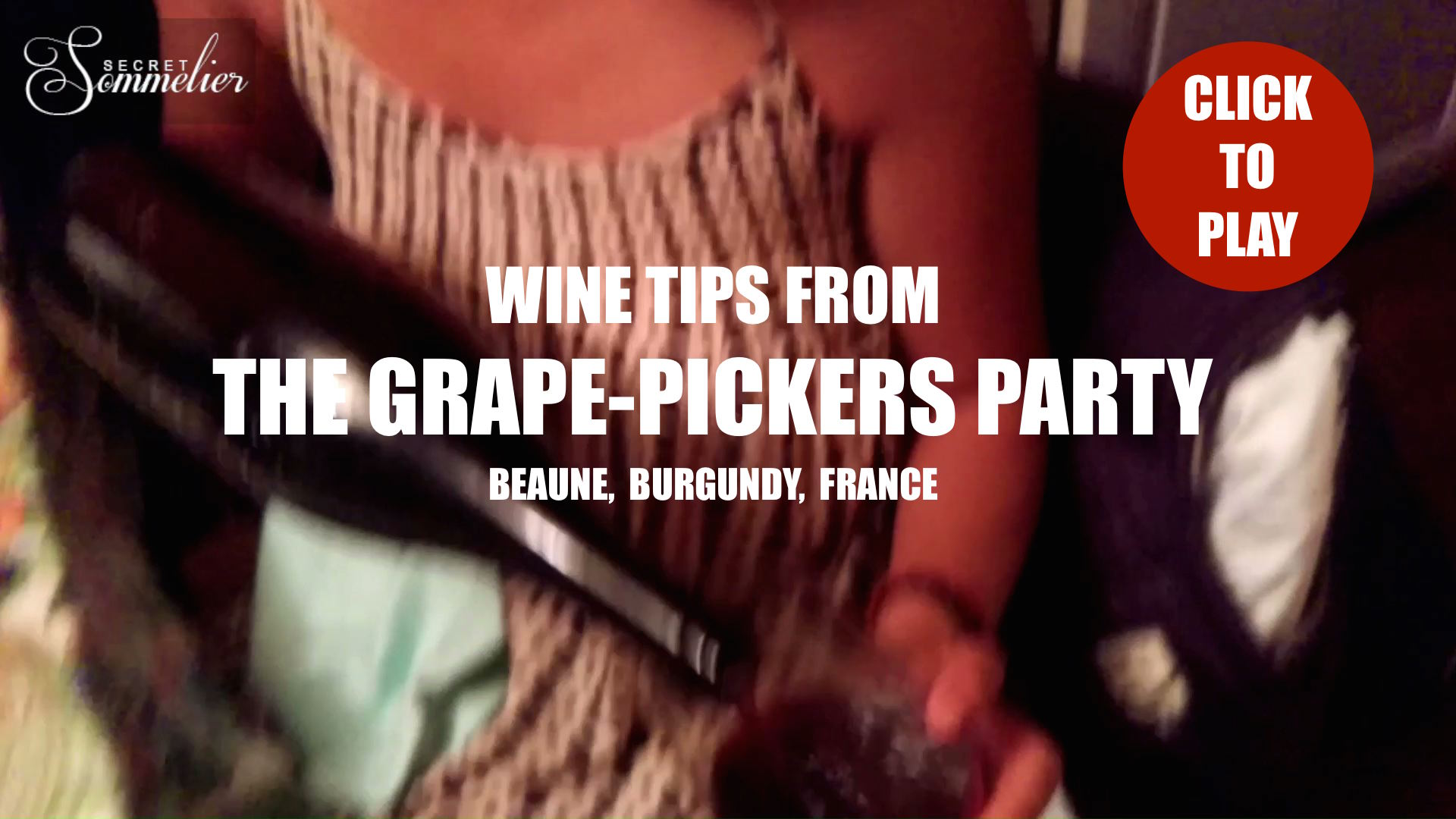 Grape Pickers Party - Beaune - Burgundy