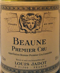 Louis Jadot 1cru 2008 Beaune