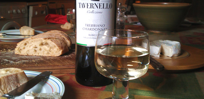 Trebbiano Chardonnay Rubicone from the Tavernello Range